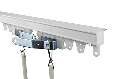 Rod Desyne Commercial Ceiling Curtain Track Kit; 120''