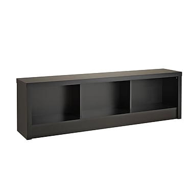 Prepac Series 9 Designer Storage Bench, Black