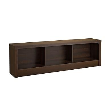 Prepac Series 9 Designer Storage Bench, Espresso