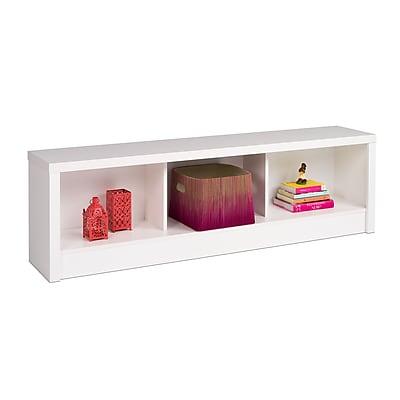 Prepac™ Calla Laminate Storage Bench, White