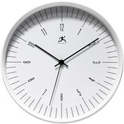 "Infinity Instruments 12"" Bel Air Analog Wall Clock, White"