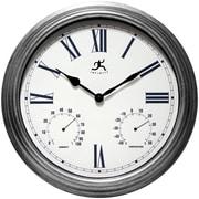 "Infinity Instruments 16"" Silo Wall Clock"