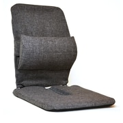 Sacro-Ease Bucket Seat Back Cushion; Charcoal