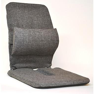 Sacro-Ease Bucket Seat Back Cushion; Grey