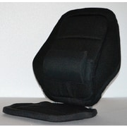 Sacro-Ease Deluxe Back Rest; Black