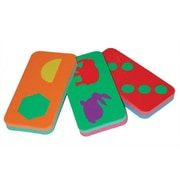 edushape Jumbo Domino Game Set; Shapes