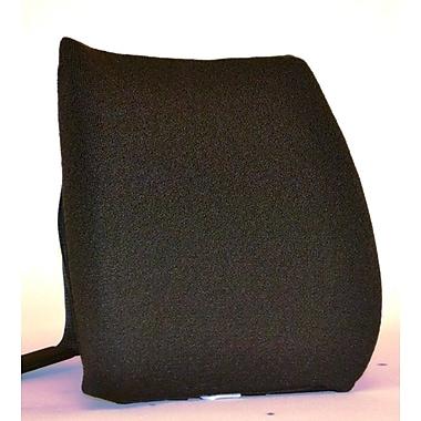 Sacro-Ease Memory Foam Back Cushion w/ Adjustable Belt; Chocolate