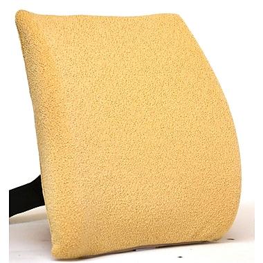Sacro-Ease Memory Foam Back Cushion w/ Adjustable Belt; Pebble