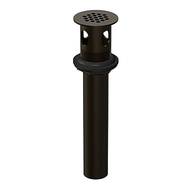 Danze Grid Strainer Assembly w/ Overflow; Oil Rubbed Bronze