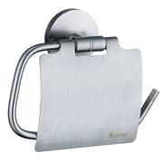 Smedbo Studio Wall Mounted Toilet Roll Holder; Brushed Chrome
