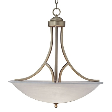 TransGlobe Lighting 2-Light Inverted Pendant; 22'' H x 15.75'' W