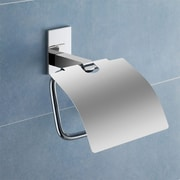 Gedy by Nameeks Maine Wall Mounted Toilet Paper Holder w/ Cover