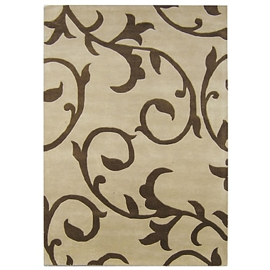 James Bond Alliyah Beige Area Rug