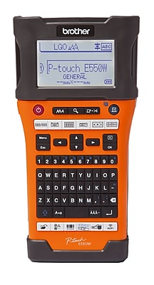 Brother P-touch EDGE Industrial Wireless Handheld Electronic Label Maker