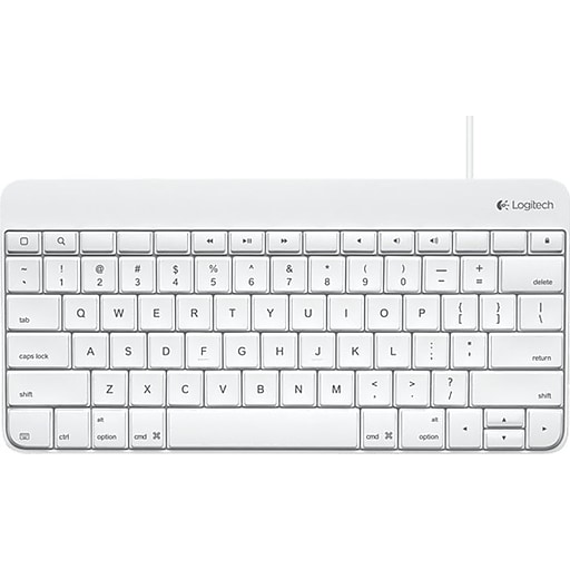Logitech® Lightning Connector Wired Keyboard For iPad
