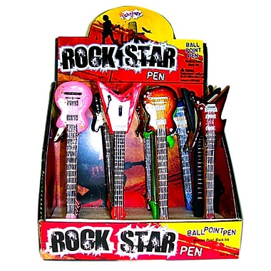 Inkology Rock Star Guitar Pens Case of 12