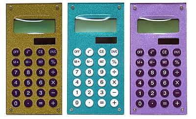 Inkology Glam Rock Glitter Calculator (641-1N)