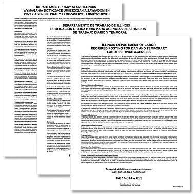 ComplyRight™ Illinois Day and Temporary Labor Services Act Poster Bundle