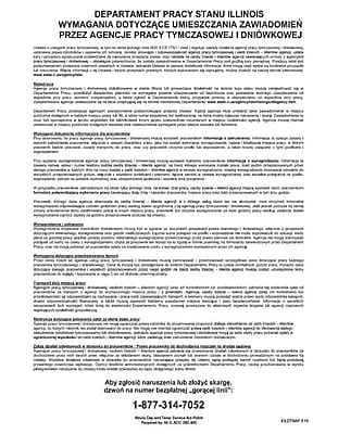ComplyRight™ Illinois Day and Temporary Labor Services Act Polish Poster (EILDTSAP)