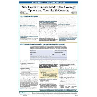 ComplyRight™ Affordable Healthcare Act Poster