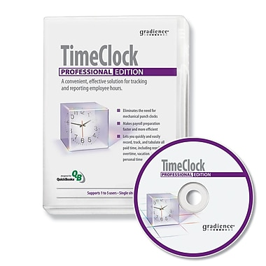 Gradience® SR0078 Time Clock Professional HR Software