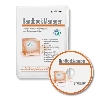 Gradience® SR0080 Handbook Manager HR Software, English