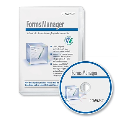 Gradience® S0076 Forms Manager HR Software, Windows, Download (S0076)