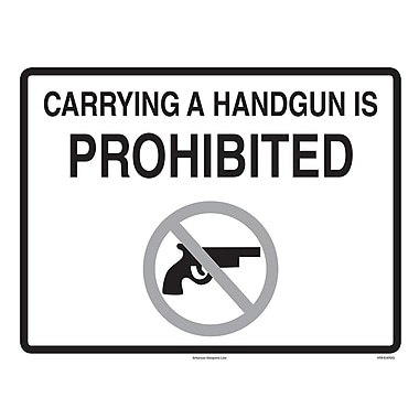 ComplyRight™ Arkansas Weapons Law Poster