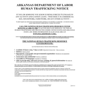 ComplyRight™ Arkansas Human Trafficking Poster