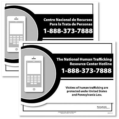ComplyRight™ Pennsylvania Human Trafficking Bilangual Poster Bundle