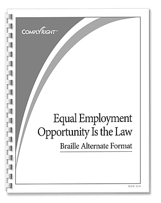 ComplyRight™ EEOC Braille Booklet (EEOCB)