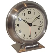 Westclox 90010A Metal Analog Big Ben Table Clock, Silver