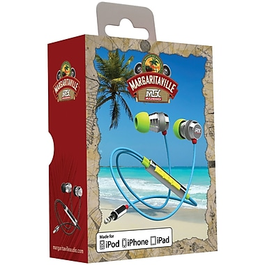 Margaritaville Audio MIX2 MACAW High Fidelity Earbuds, Macaw