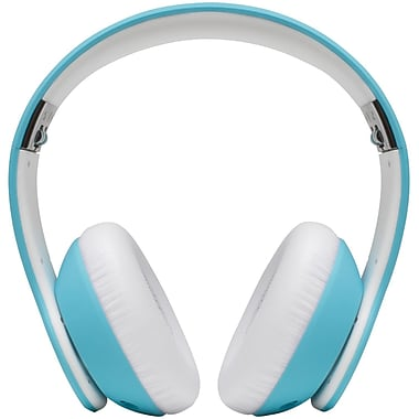 Margaritaville Monitor MIX1 BLUE Headphones with Microphone, Bahama Blue