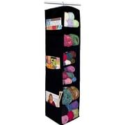 Innovative Home Creations 6 Shelf Yarn And Craft Organizer, Black