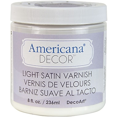 Deco Art® Americana® Decor™ 8 oz. Decor Varnish, Light Satin