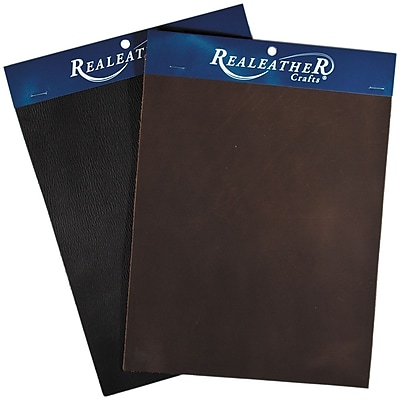 Realeather Crafts Leather Triumph Trim, Brown