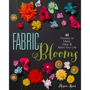 """Sterling Publishing """"Fabric Blooms"""" Paperback Book"""