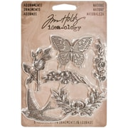 Advantus Idea-Ology Metal Nature Adornment, Antique Nickel