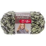 Spinrite® Bernat® Soft Boucle Yarn, Steel Green