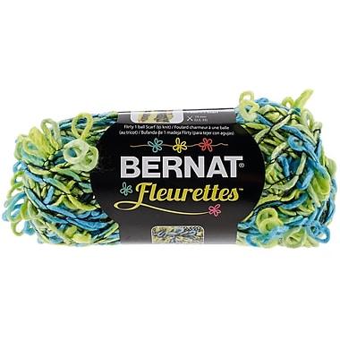 Spinrite® Bernat®® Bernat® Fleurettes Yarn, Lime Rickey