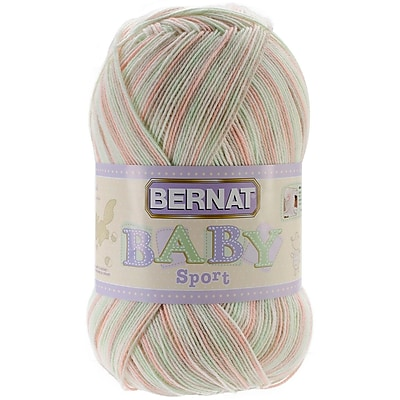 Spinrite® Bernat® Baby Sport Big Ball Yarn, Ombres, Citrus Sorbet
