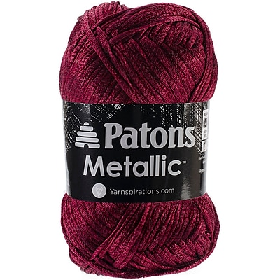 Spinrite® Patons® Metallic Yarn, Wine