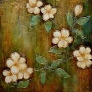 "Yosemite ""Dogwood Dream I"" Canvas Art"