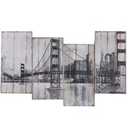 "Yosemite ""Golden Gate Bridge"" Canvas Art"
