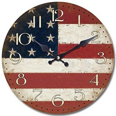 Yosemite Home Decor CLKA7189 Analog Wall Clock