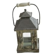 "Yosemite 10.63"" x 5.51"" x 5.51"" Candle Lantern, Distressed"
