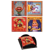 Trend Setters Muppets Glass Print Coaster (Set of 4)
