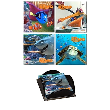 Trend Setters Finding Nemo Glass Print Coaster (Set of 4)