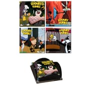 Trend Setters Looney Tunes (Classic Toons) Glass Print Coaster (Set of 4)